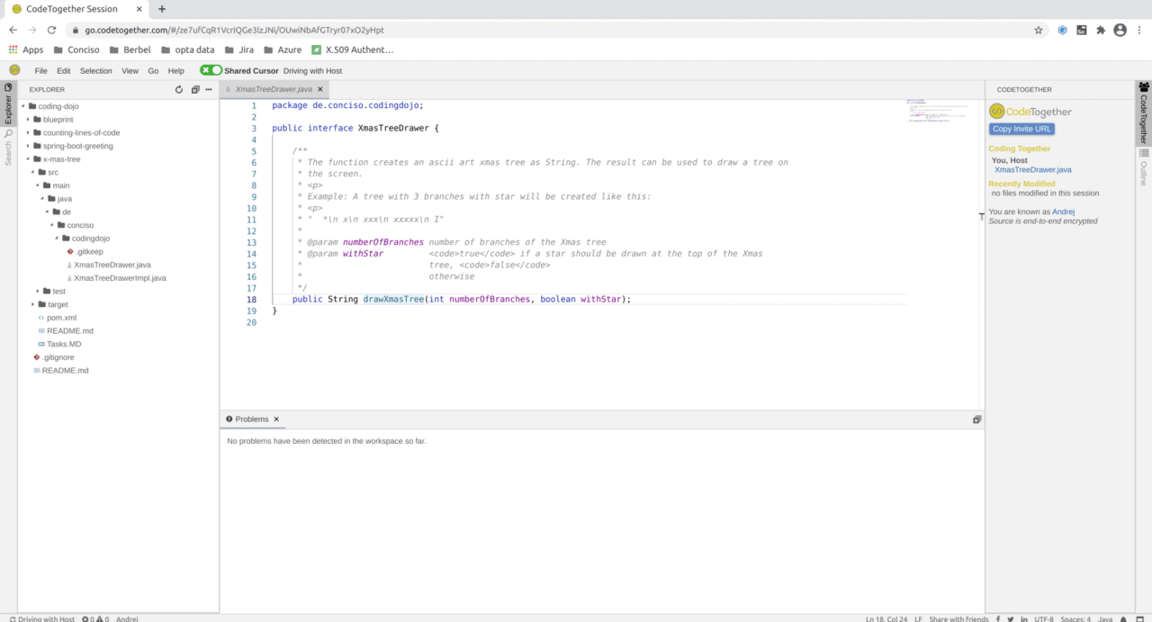 CodeTogether with Browser