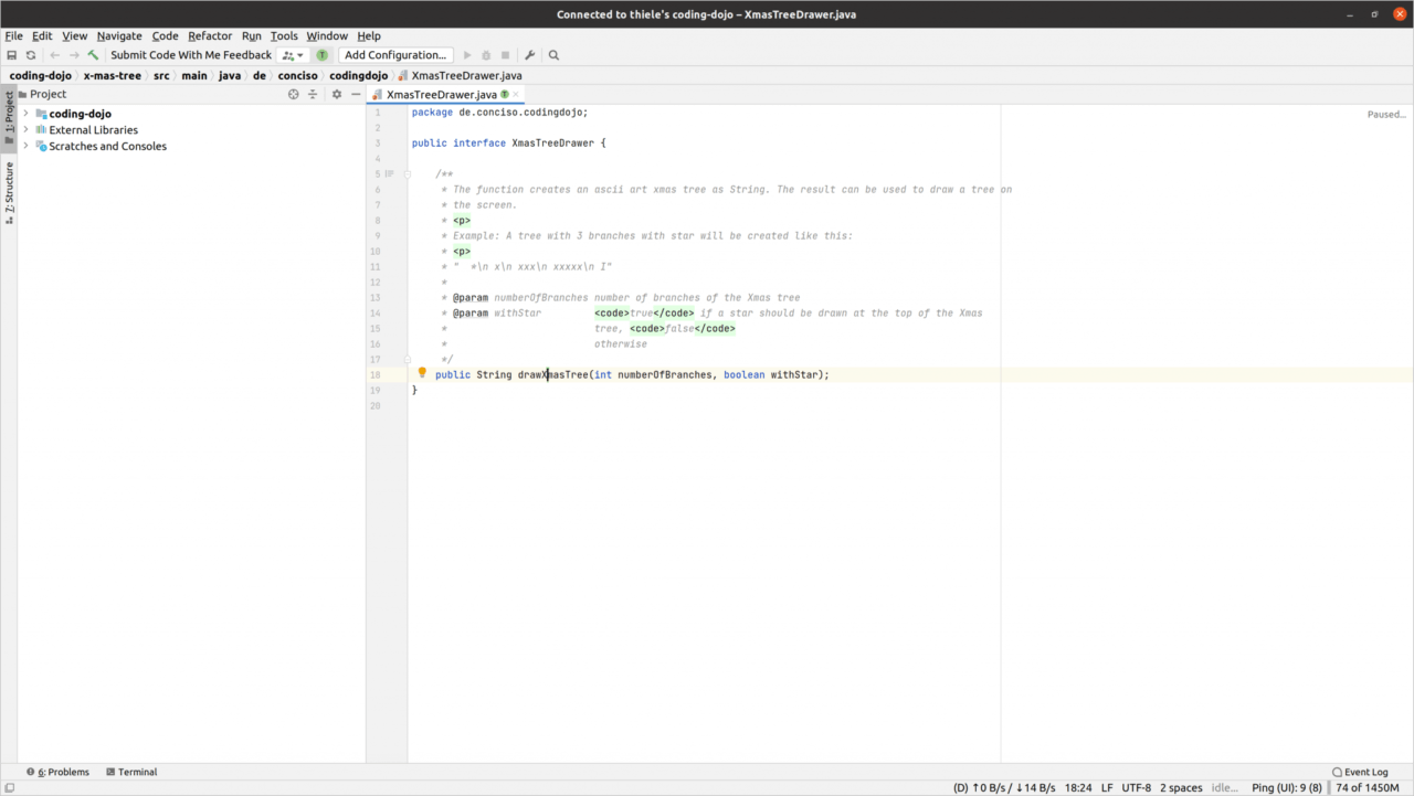 IntelliJ CodeWithMe Client IDE